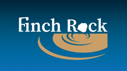 Huisstijl en webdesign Finch Rock
