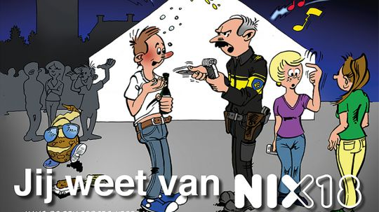 cartoon NIX campagne